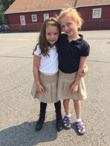 Annie Burns - First day of school 2015
